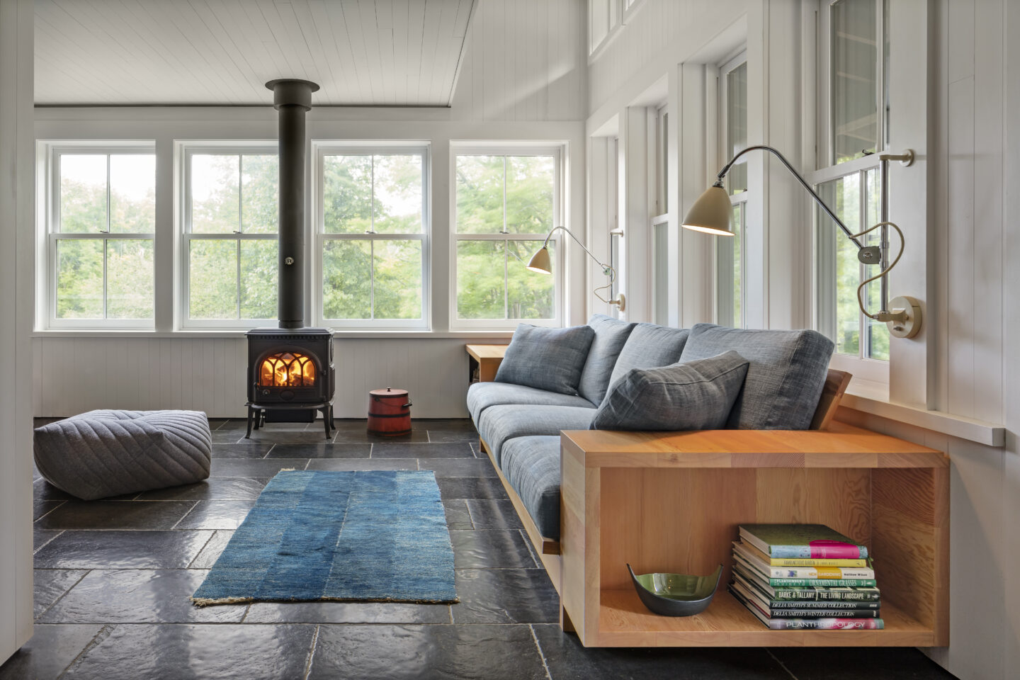 Farther Timbers sunroom by Built Work Design