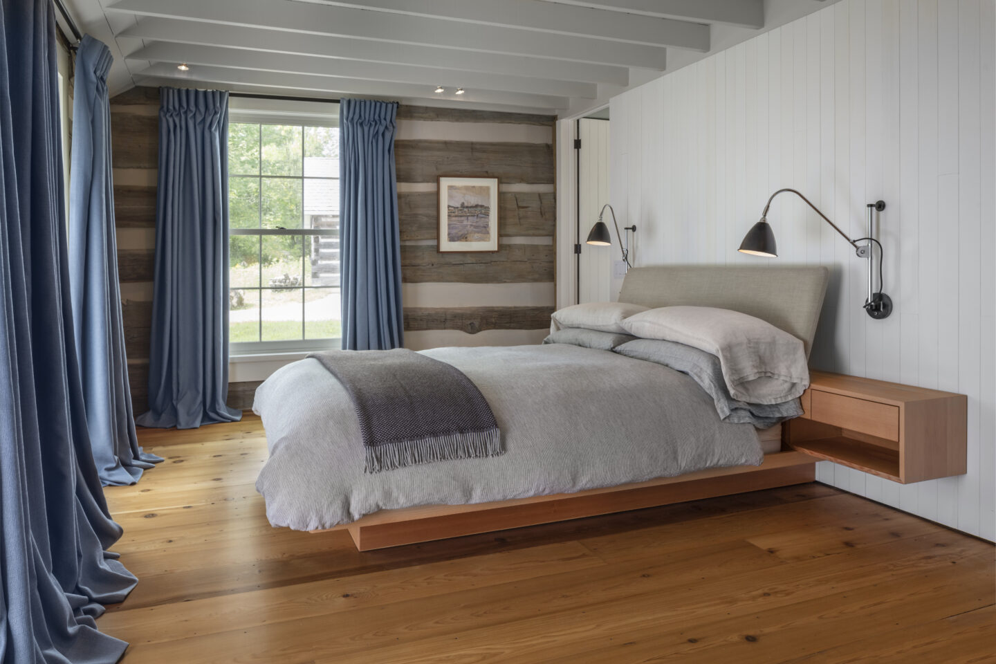 Farther Timbers bed by Built Work Design
