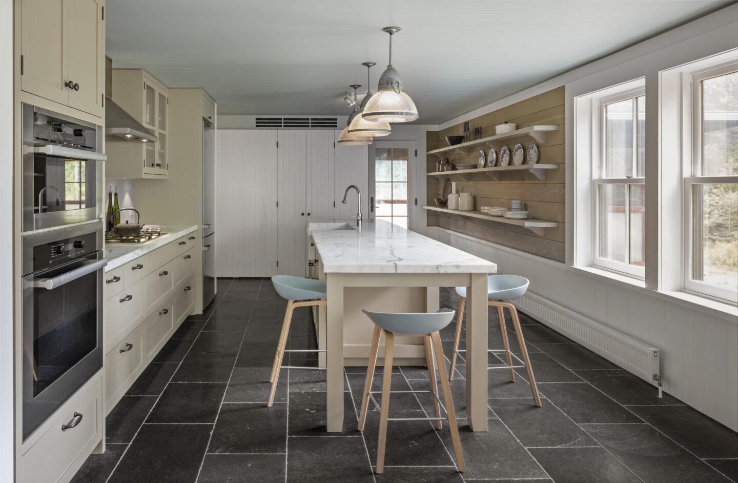 Farther Timbers Kitchen by Built Work Design